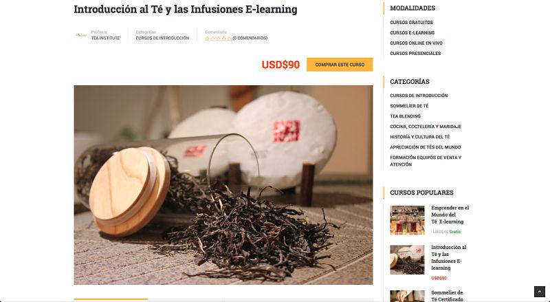 curso de té, introducción al té, curso de té