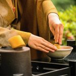 té de estilo oriental